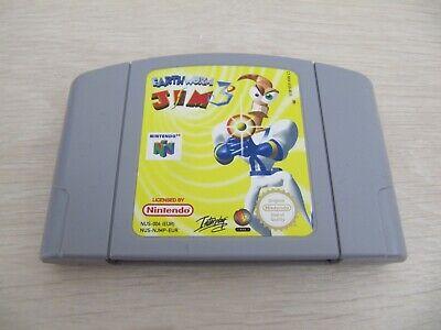 Earthworm Jim 3D Nintendo 64 N64 comprar usado  Enviando para Brazil
