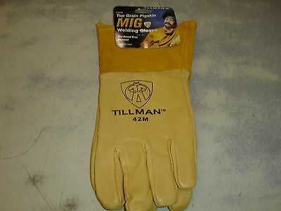 Tillman 42m Tig Premium Welding Gloves Medium Top Grain Pigskin