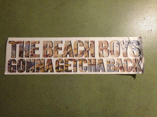 Larger Beach Boys Bumper Sticker