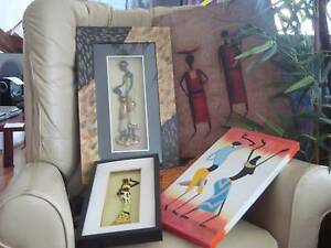 Artwork pictures of African families and dance Ellenbrook Swan Area Preview