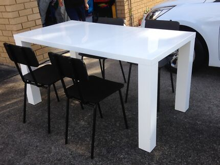 Dining Table With Six Chairs | Dining Tables | Gumtree Australia Great  Lakes Area   Forster | 1188476024