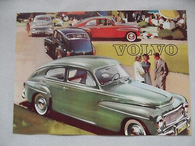 Prospekt brochure Typenblatt VOLVO PV 544 SR918
