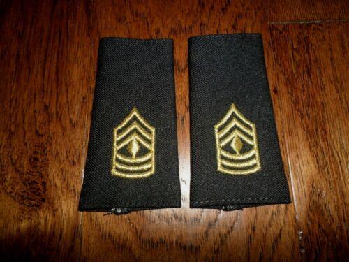 U.S MILITARY ARMY EPAULETS FIRST SERGEANT SHOULDER RANK POLICE EPAULETS