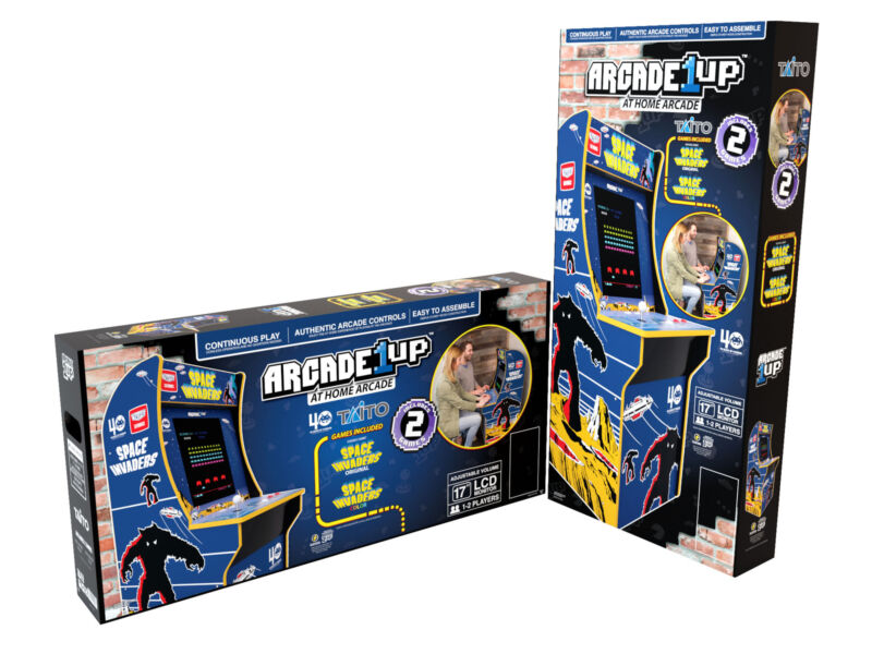 Arcade1Up - Space Invaders Home Arcade Cabinet [Brand New]