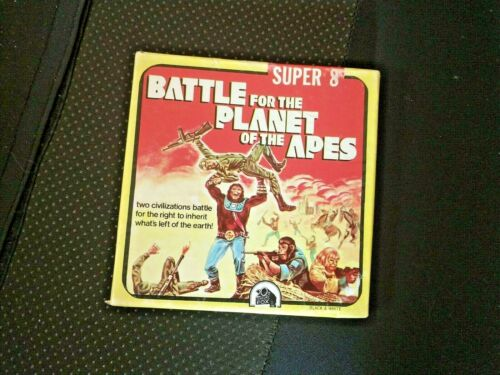1973 BATTLE FOR THE PLANET OF THE APES KEN FILMS SUPER 8 VERY GOOD CONDITION