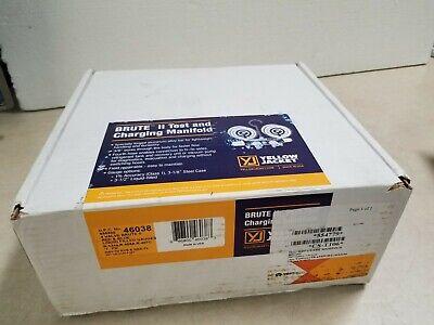 Yellow Jacket 46038 Brute Ii Test Charge Manifold Fc Liquid Gauge