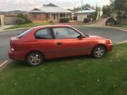 Hyundai Accent 2001 Helena Valley Mundaring Area Preview