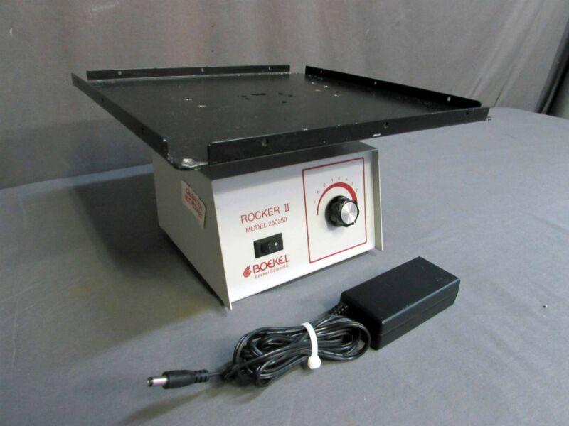 Boekel Rocker II Model 260350 Variable Speed Wave Motion Platform Rocker