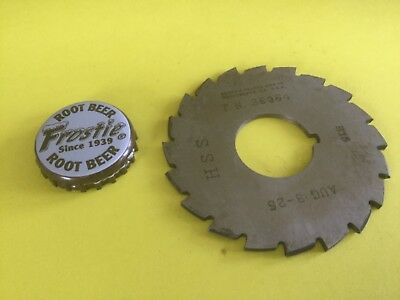 Hss Slitting Sawing Milling Saw Cut Off Blade 2.527 X 0.087 Wide 78 Inch Drive
