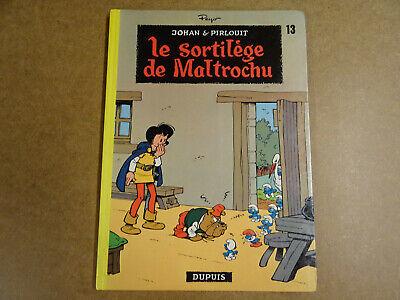 BD / JOHAN ET PIRLOUIT T.13 - LE SORTILEGE DE MALTROCHU