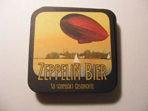 ZEPPELIN BIER  coasters lot of 10 unused condition