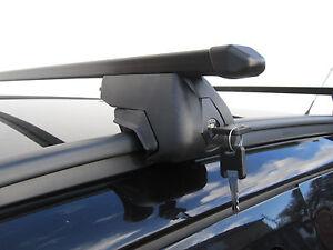 Roof Rack Rail Bars Locking Vauxhall Zafira Tourer 2011