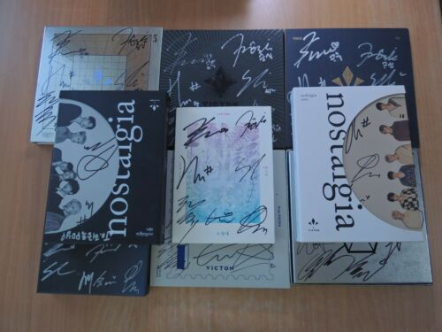 Victon OLD (Promo) with Autographed (Signed) 3 From.Victon