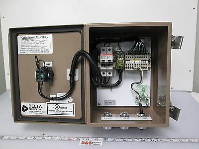 Electrical Enclosure Control Cabinet 10x8x6 On/Off Switch Terminal Project (Enclosure Cabinet)