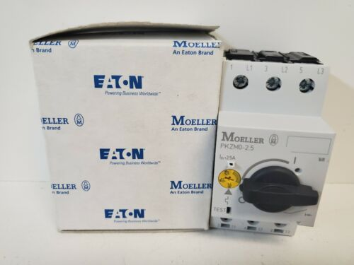 NEW IN BOX! EATON MOELLER 1.6-2.5A MANUAL MOTOR STARTER PKZM0-2,5