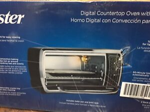 Brand New Oster digital countertop oven with convection