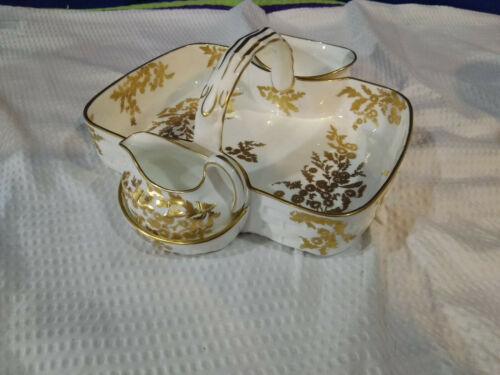 HAMMERSLEY~Golden Tansy~Strawberry Basket~Crafted in England~NICE!