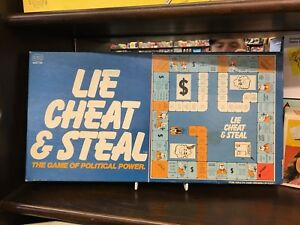 Lie Cheat And Steal The Game