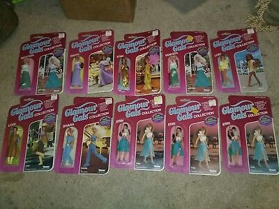Lot of 10 Kenner Toys Glamour Gals Figures! NIP!!!