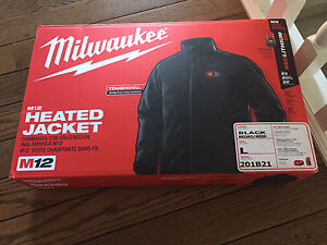 Milwaukee M12 heated jacket Large