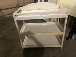 Baby change table - white/off white