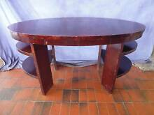 Desk Table, Oval, 1 Drawer 365853 Lane Cove Lane Cove Area Preview