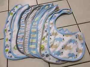 Baby Boy Bibs + Mittens/Gloves Kelvin Grove Brisbane North West Preview