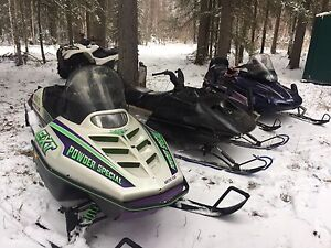 5 sleds for sale or trade