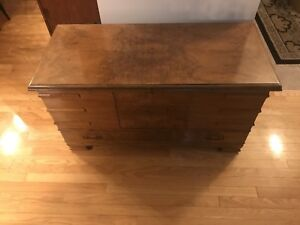 Walnut cedar chest