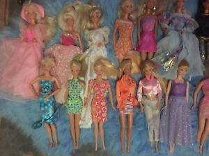 HUGE BARBIE LOT! Clothing, shoes, hairbrushes, furniture....