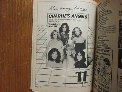 Sep-1982 St Louis TV Mag(CHARLIES ANGELS/VICTOR BORGE/SUZY GILSTRAP/KATE JACKSON