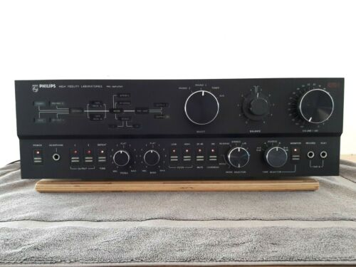 Philips 5721 Pre-amplifier High Fidelity Laboratories Series- VGC- Works Well