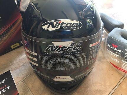 Motorcycle Helmet  Black