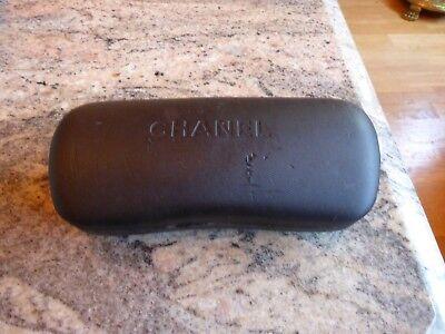 Chanel   Sunglasses Glasses Protective Case Box  Genuine (Chanel Glasses Case)