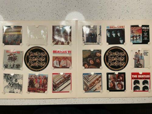 BEATLES Chu-Bops Miniature Albums SEALED COMPLETE SET 16 + Original Album Holder