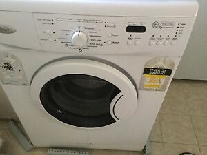 Whirlpool front load washer wfe107580 Parkwood Canning Area Preview