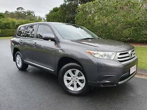 2012 Toyota Kluger KX-R Automatic SUV - AWD - 1 YEAR WARRANTY Sippy Downs Maroochydore Area Preview