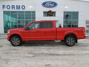 2015 Ford F150 SUPERCREW XLT SPORT 4X4