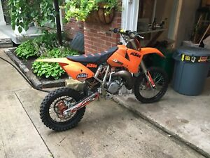 2004 ktm sx 85/ sx105 with ownership