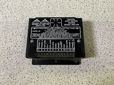 Anaheim Automation Mbl536 Bilevel Step Motor Driver