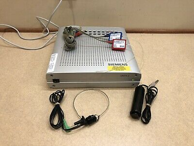 Siemens Unity 2 Pc Based Clinical Audiometer W New Calibration Certificate