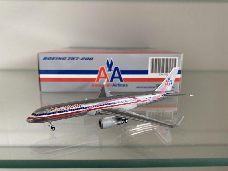 1:400 JC Wings American Airlines 757-200 Polished Komen Pink N664AA