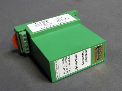 New Cr Magnetics Cr6610-100 Frequency Transducer