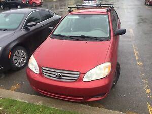 Corolla 2004 à vendre
