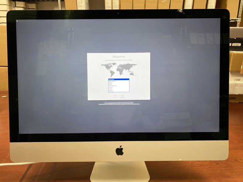 "Apple iMac 2019 27"" Retina 5K - MRQY2LL/A (PLEASE READ DESCRIPTION!!!)"