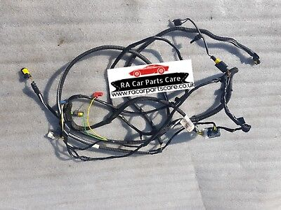 PEUGEOT 206 CC BOOT WIRING LOOM HARNESS 9639833080