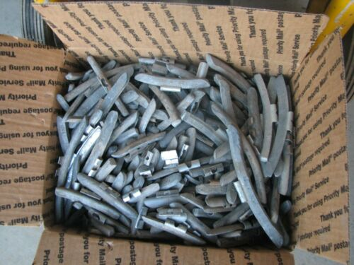 36 pounds Used Lead Clip-On Wheel Weights, Hand Sorted