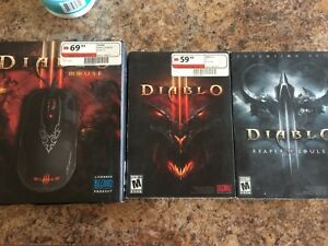 Diablo games and mouse