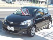 2012 Toyota Yaris NCP131R YRS Hatchback 5dr Auto 4sp 1.5i Footscray Maribyrnong Area Preview
