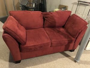 Couch and loveseat. EUC.  Moving sale